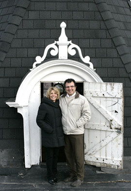 Linwood Mill Owners Patty and Bill Giannopoulos